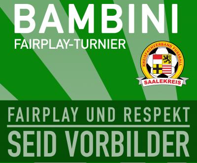 Plakat Bambini Fair Play Turnier