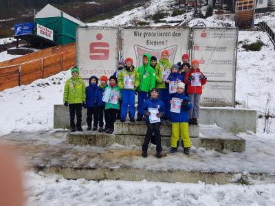 Foto zur Meldung: Thüringer-Schülercup in Lauscha