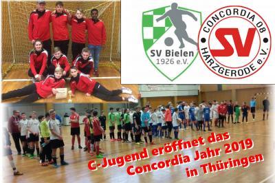 Vorschaubild zur Meldung: C-Jugend eröffnet das Concordia Jahr 2019 in Thüringen