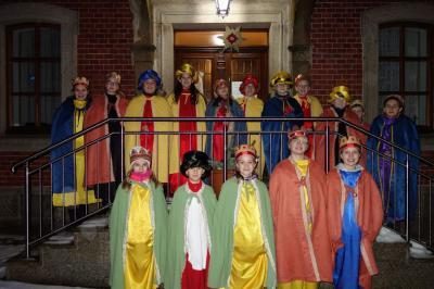 Foto zur Meldung: Sternsingeraktion und Dreikönigstag festlich gefeiert