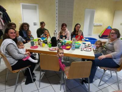 Foto zur Meldung: Weihnachtsfeier in der Krabbelgruppe