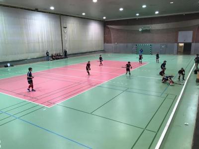 Foto zur Meldung: KB: Testspiele in der Heinrich-Mann-Sporthalle