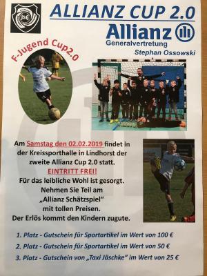 Vorschaubild zur Meldung: Allianz F - Jugend Cup am 02.02.2019