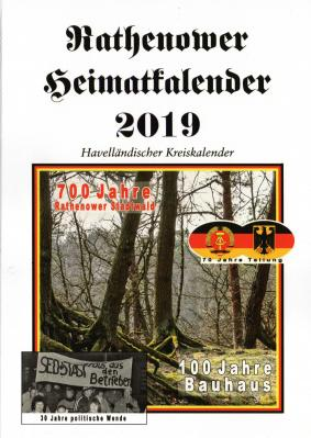 Rathenower Heimatkalender 2019