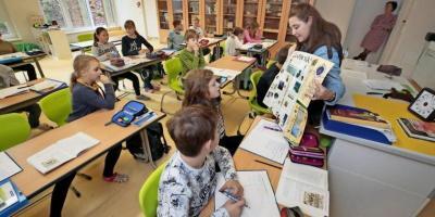 Foto zur Meldung: Austauschlehrerin an der Grundschule