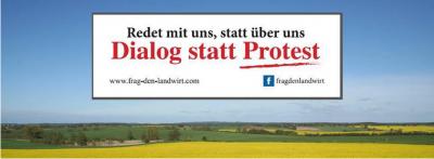 Foto zur Meldung: Aktionsaufruf: Dialog statt Protest - Wir machen Euch satt!