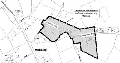 """Außenbereichssatzung """"Mollberg, Mollberger Weg"""""""