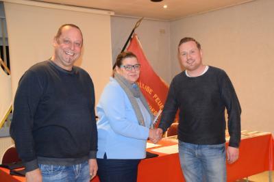Foto zur Meldung: Großzügige Spende für die Kameraden der Freiwilligen Feuerwehr Perleberg
