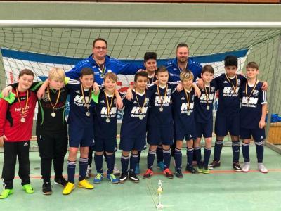 Foto zur Meldung: U13: D1-Jugend - Erfolgreich beim HG-Bau Cup