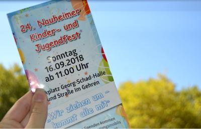 Im Jahr 2019 findet das 25. Nauheimer Kinder- und Jugendfest statt