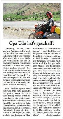 Vorschaubild zur Meldung: Opa Udo hat´s geschafft