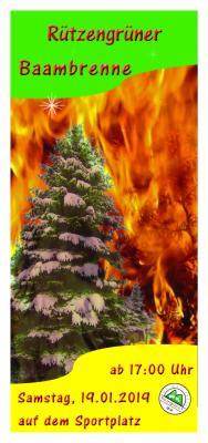 Vorschaubild zur Meldung: Rützengrüner Baambrenne