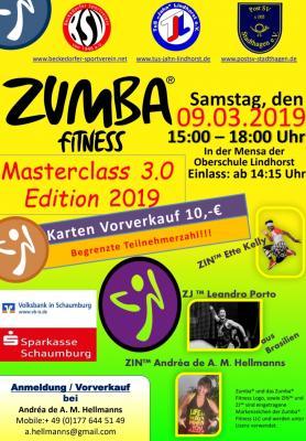 Vorschaubild zur Meldung: Zumba Masterclass 3.0