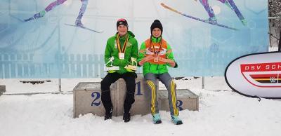 Foto zur Meldung: Ruhlaer Medaillensammler in Hinterzarten