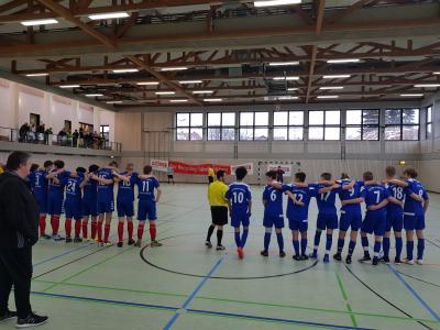 Das Bild entstand vor dem 6 Meterschießen um Platz fünf gegen die JFG Luisenburg.