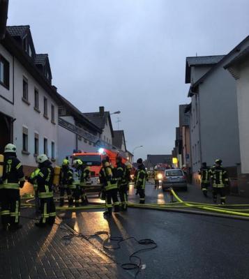 Gebäudebrand in der Wetzlarer Straße