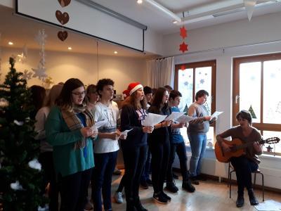 Foto zur Meldung: Ein weihnachtlicher Moment