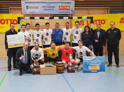 Foto zur Meldung: FC Creußen - Hallenkreismeister
