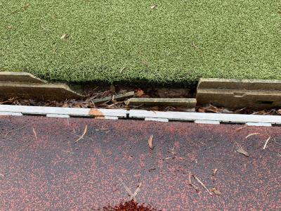 Foto zur Meldung: Sportplatz am Schulzentrum gesperrt!