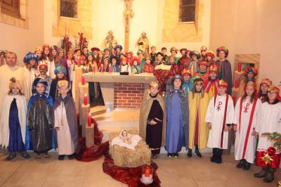 Sternsinger der Pfarreiengemeinschaft