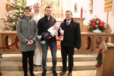 Taufe Wallner Jule
