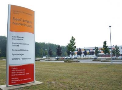 Foto: SeeCampus Niederlausitz von Server-Ausfall betroffen. (Foto Landkreis)