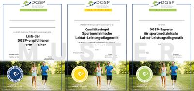 Neue Zertifikate der DGSP