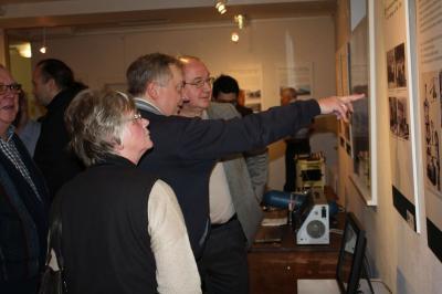 Viele Interessierte Besucher kamen zur Ausstellungseröffnung ins Stadtmuseum I Foto: Friederike Pohlmann