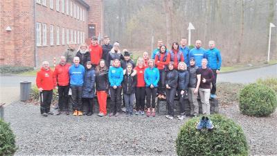 Foto zur Meldung: Es geht wieder los - Laufjahr beginnt mit Trainingslager