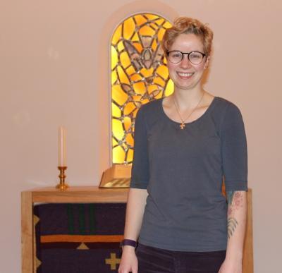 Foto zur Meldung: Neue Pastorin der dänischen Kirchengemeinde
