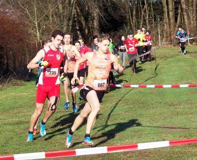 Foto zur Meldung: Luke Kelly dominiert beim Straberger Crosslauf