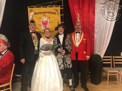 Prinzenpaar des LCV 2018/19 Michel I. und Yvonne I.