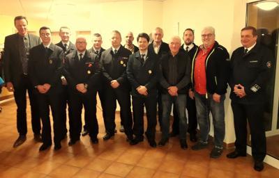 Foto zur Meldung: Jahreshauptversammlung der Freiwilligen Feuerwehr Zella e.V.