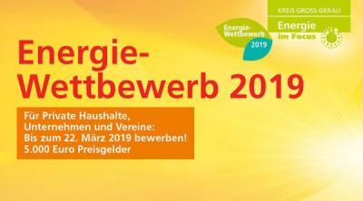 Foto zur Meldung: 5000 Euro Preisgeld zu gewinnen Energie-Wettbewerb für Privatleute, Unternehmen und Vereine