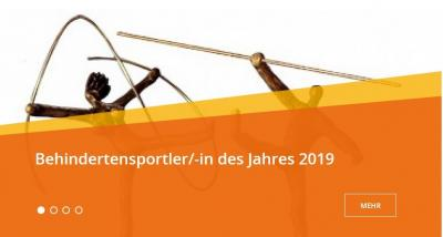Vorschaubild zur Meldung: Wahl zum Behindertensportler 2019 des BSN