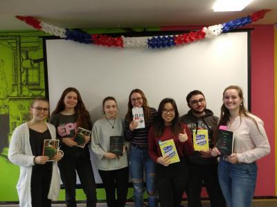 Vorschaubild zur Meldung: Wir machen mit beim Prix des Lycéens allemands 2019