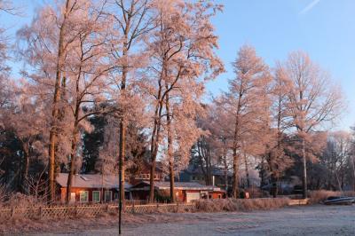 Foto zur Meldung: Auch im Winter attraktiv: die LKV-Kanulehrstätte am Steinhuder Meer