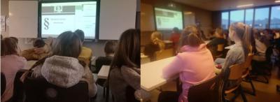 Foto zur Meldung: Projekttag zum Thema Cybermobbing in Klasse 6