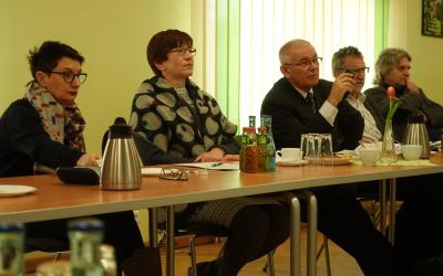 Simona Koss, Kathrin Schneider, Reiner Donath, Wolfgang Rump, Rainer Schinkel (v.l.)