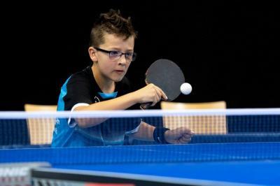 Foto zur Meldung: 27. Minimeisterschaften im Tischtennis