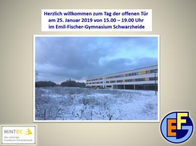 Tag der offenen Tür am Emil-Fischer-Gymnasium im SeeCampus am 25.01.2019