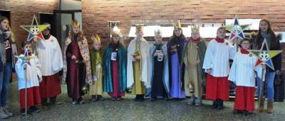 Foto zur Meldung: Die Sternsinger waren im Rathaus der Samtgemeinde Velpke