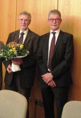 Foto zur Meldung: Die Samtgemeinde Velpke verabschiedet Samtgemeinderat Henning Glaser in den Ruhestand