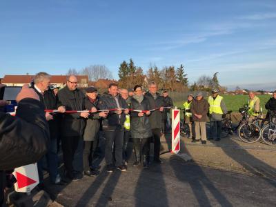 Foto zur Meldung: Offizielle Eröffnung des Radweges von Velpke nach Meinkot