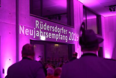 Vorschaubild zur Meldung: Ein leuchtender Rüdersdorfer Neujahrsempfang