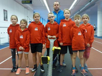 Foto zur Meldung: Mehrkampf-Landeshallenmeisterschaften kam bei den Jüngsten gut an