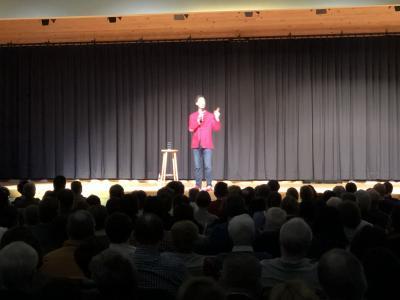 Vorschaubild zur Meldung: 1. Comedy Veranstaltung MADDIN Schneider war ein voller Erfolg !
