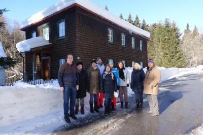 Foto zur Meldung: Pfarrgemeinderat trifft sich zum Klausurwochenende im Zwieslerwaldhaus