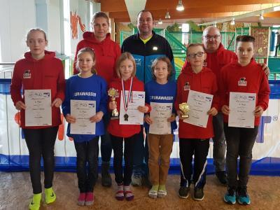 Foto zur Meldung: Laager Kinder bestimmen den Nachwuchslaufcup in MV