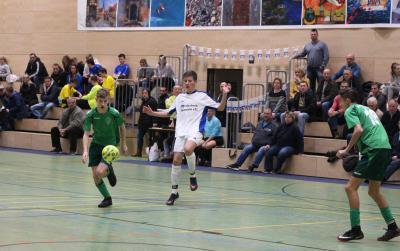 Foto zur Meldung: Altentreptower B-Jugend gewinnt den Volksbank Cup